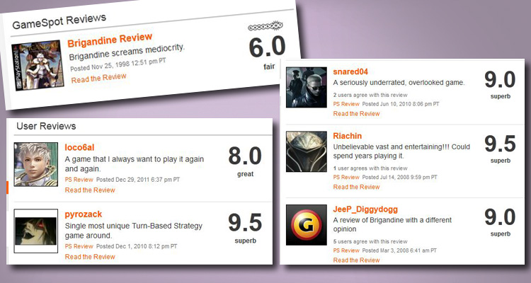 As you can see, the game was much more appreciated by players than professional reviewers.